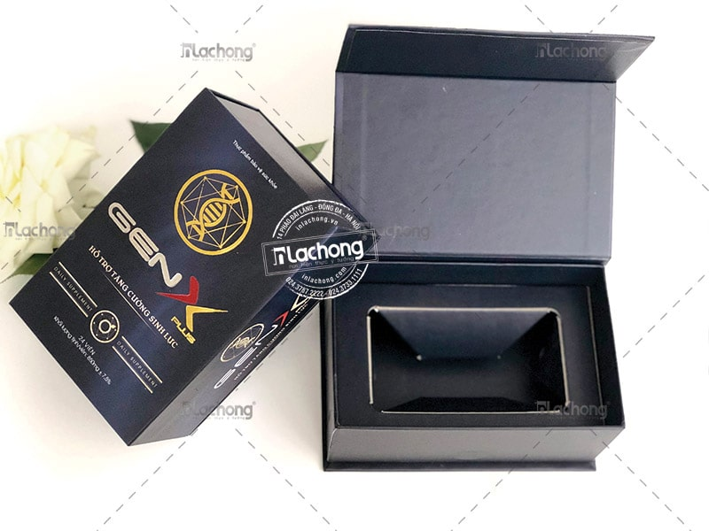in vỏ hộp carton cao cấp GenX