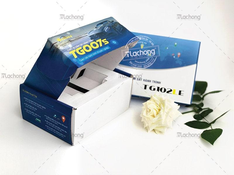 Sản xuất hộp sóng đựng thiết bị TG007s