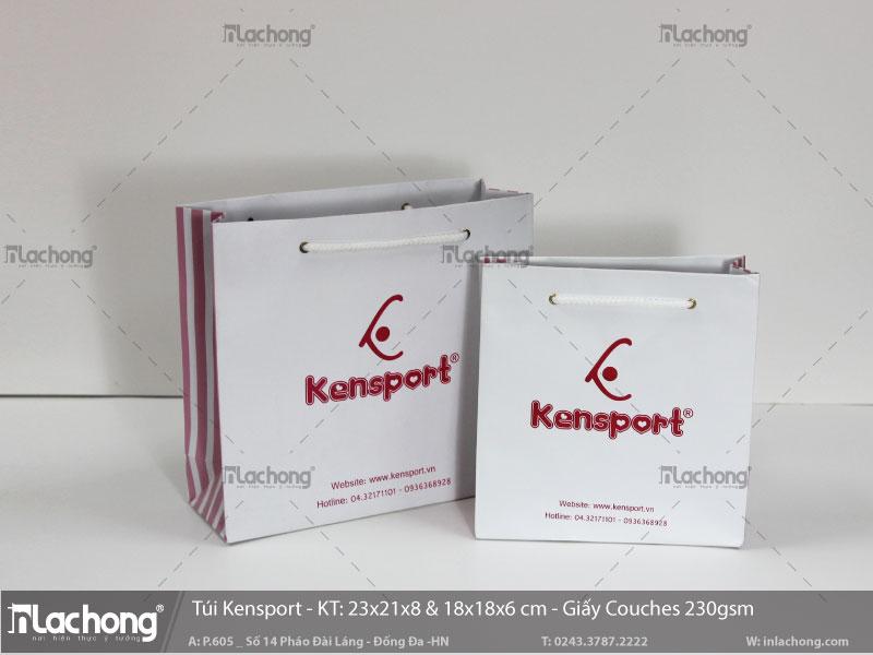 làm túi giấy thời trang kensport