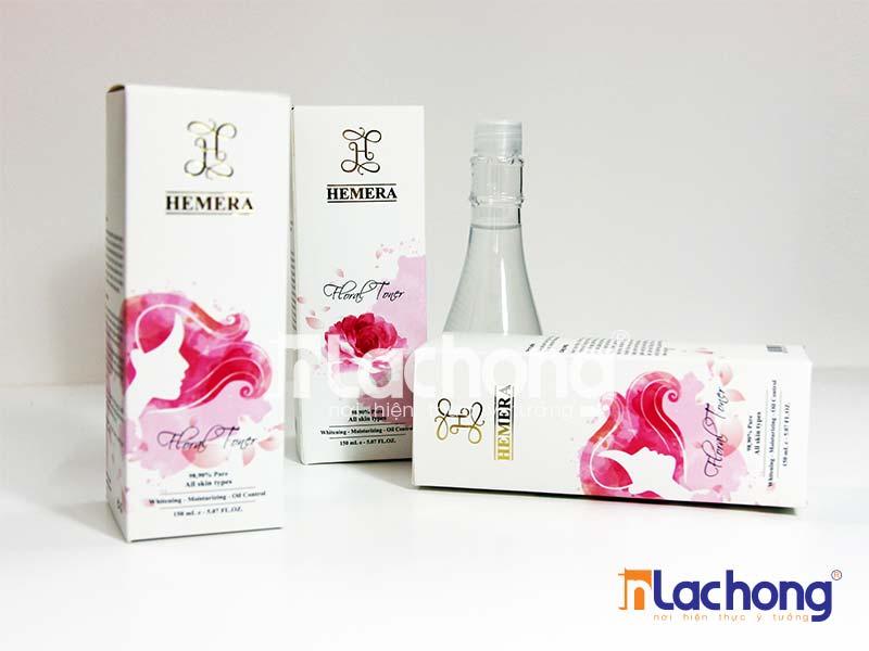 In hộp mỹ phẩm nước hoa HEMERA