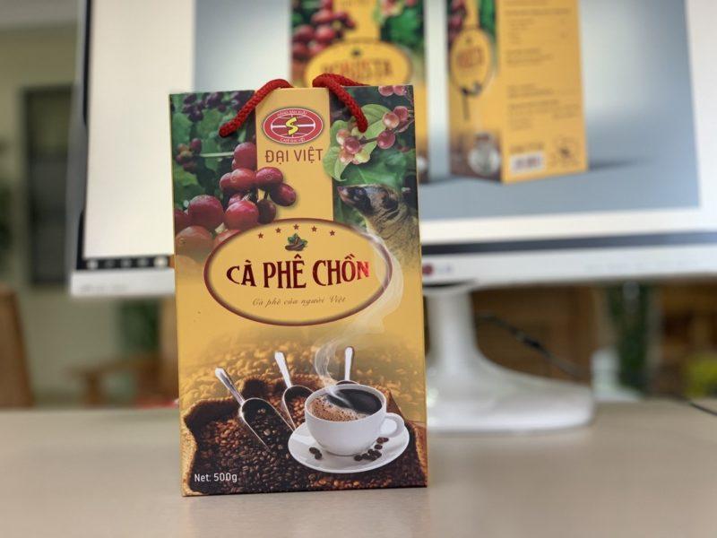 Hộp Cafe Chồn Sau Khi Sản Xuất Tại Lạc Hồng