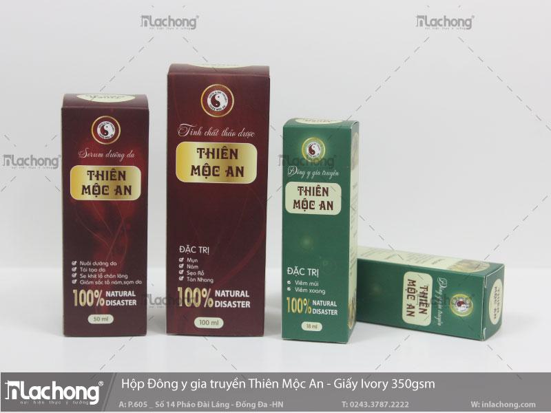 Mẫu vỏ hộp thuốc được thiết kế tại Lạc Hồng.