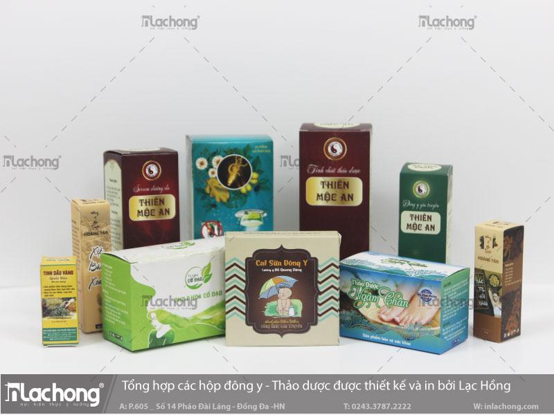 Các thiết kế vỏ hộp thuốc giá rẻ tại Lạc Hồng.