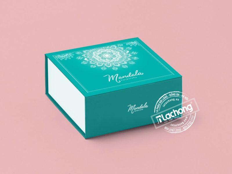 in hộp quà tặng mandala Quảng Ninh