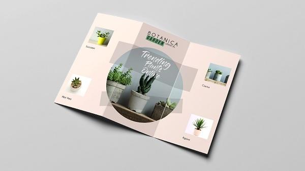 Quảng cáo dịch vụ, sản phẩm thông qua mẫu in Brochure cực bắt mắt.