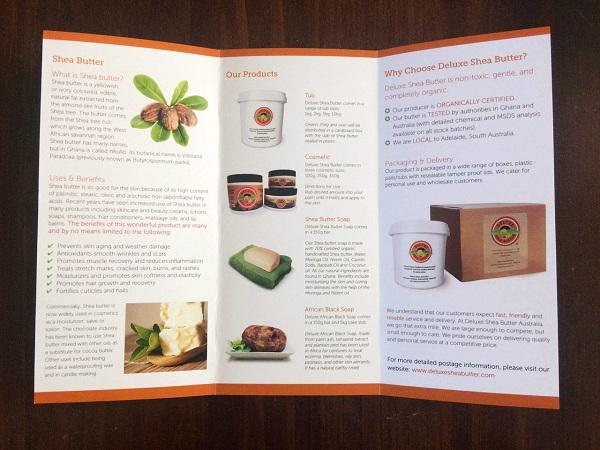 Mẫu thiết kế Brochure mỹ phẩm, quảng cáo sản phẩm hiệu quả.