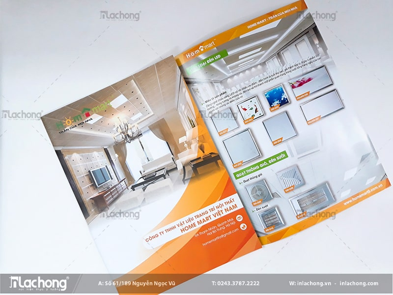Catalogue giới thiệu các sản phẩm máy móc, thiết bị điện tử thông minh trong nhà.