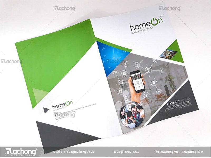 Thiết kế catalogue chuyên nghiệp Home On.