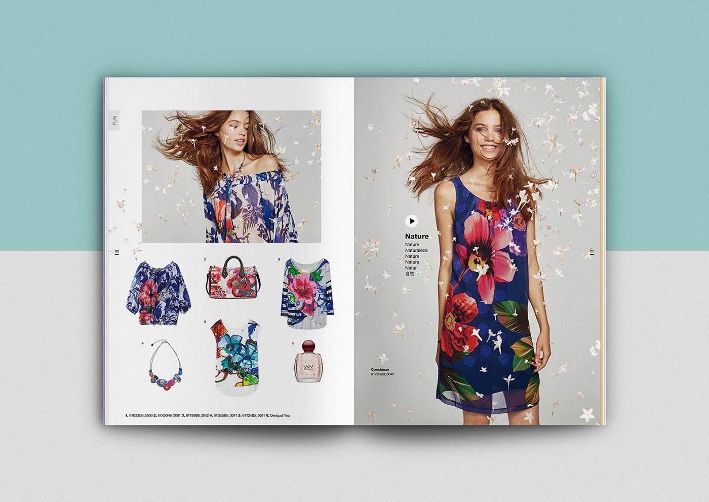 Thiết kế catalogue chuyên nghiệp về thời trang.