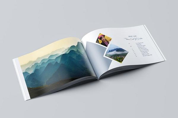 catalogue a5 có kích thước bằng 1/2 catalogue a4, tiện, nhẹ và dễ cầm