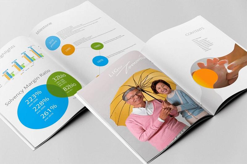 In catalogue giới thiệu dịch vụ đến khách hàng hiệu quả