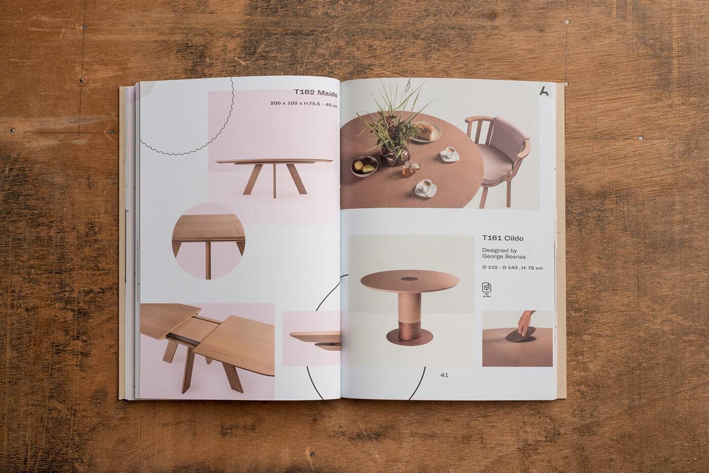 Hình ảnh là yếu tố quan trọng nhất của catalogue. Do đó thiết kế cần làm nổi bật được cái riêng và vẻ đẹp của sản phẩm trên giấy.