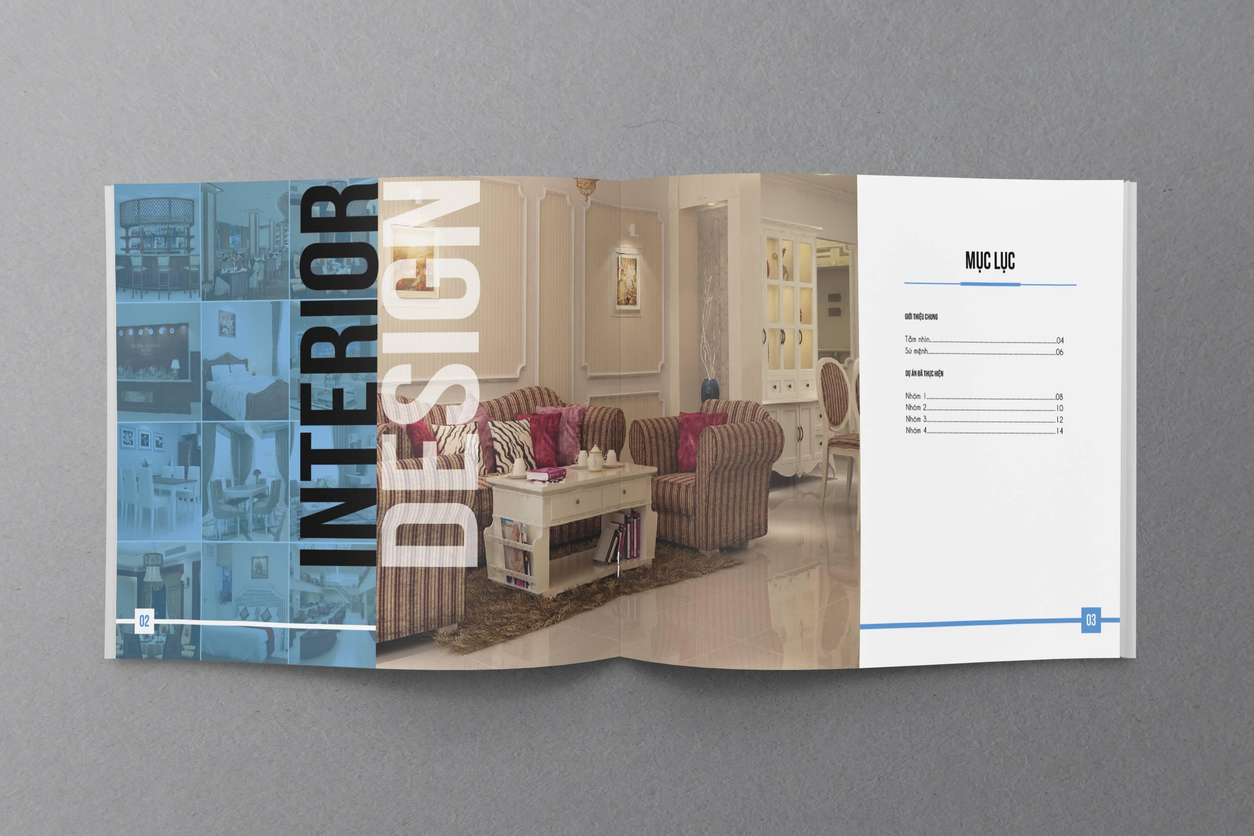 In Catalogue nội thất để phục vụ việc kinh doanh của bạn tốt hơn.