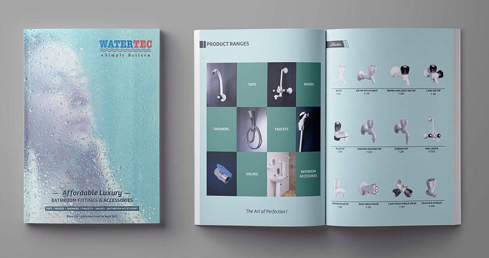 Bìa catalogue được thiết kế khá ấn tượng.