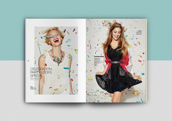 Thiết kế catalogue thời trang thường thu hút người xem vì hình ảnh đẹp