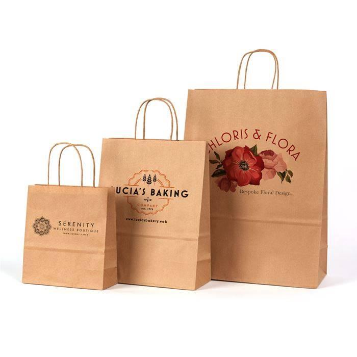 Túi giấy tái chế với nhiều kiểu dáng sang trọng cho bạn lựa chọn