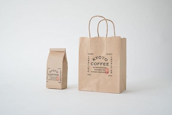 Thiết kế túi đựng cà phê bột và túi giấy có dây quai