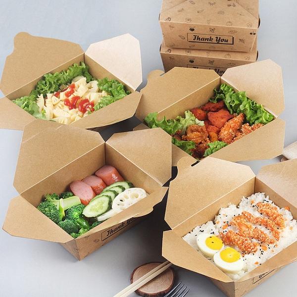 Kỹ thuật in hiện đại giúp cho các hộp giấy bảo quản tốt các loại đồ ăn chiên, rán.