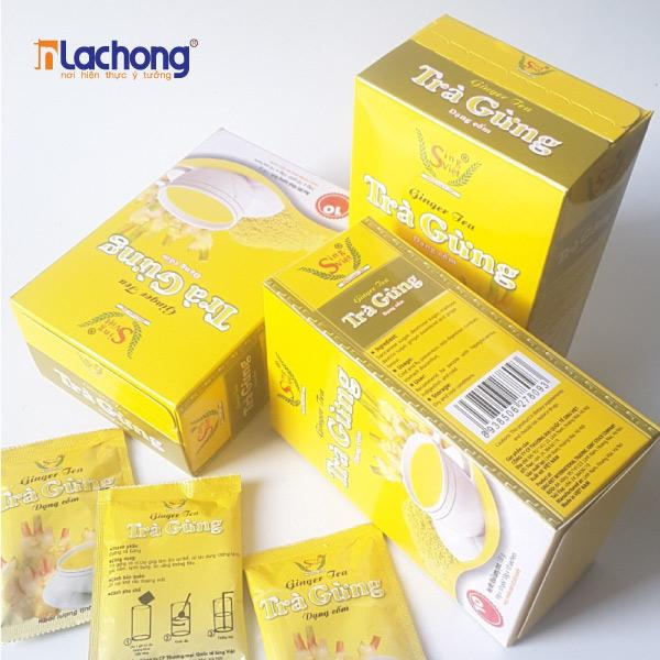 Mẫu hộp giấy đựng trà, sử dụng màu sắc tươi mới góp phần làm nổi bật và thu hút khách hàng tốt hơn