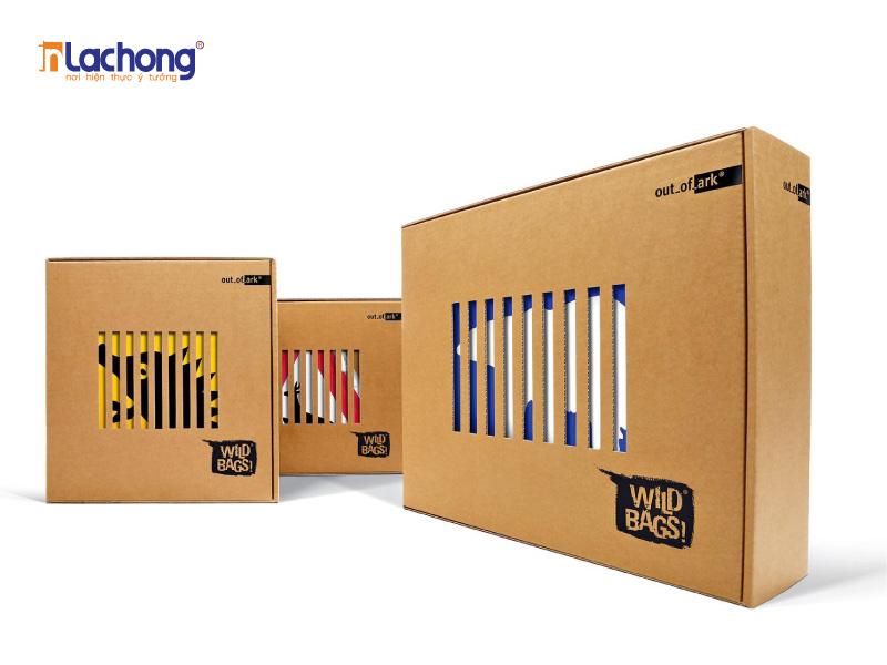Sử dụng các mẫu hộp giấy được thiết kế bằng chất liệu giấy kraft còn góp phần thân thiện với môi trường