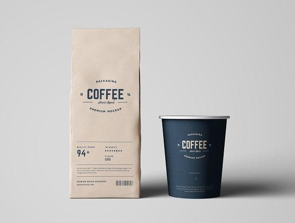 Túi giấy đựng cà phê là cách quảng cáo thương hiệu tốt.