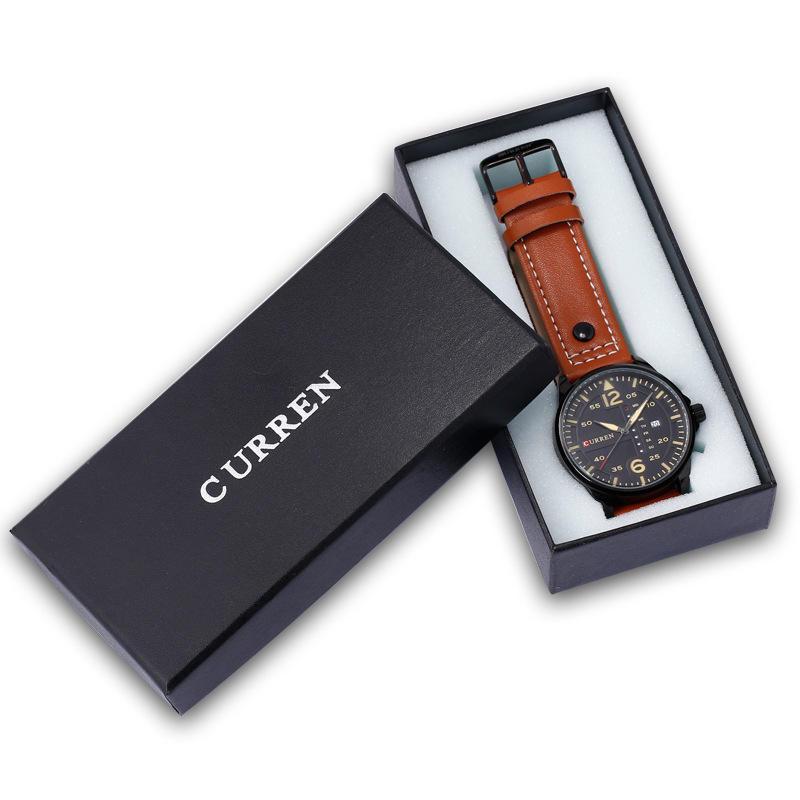 Thay đổi hình dạng, kích thước hộp giấy để phù hợp với kiểu dáng đồng hồ.