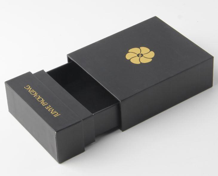 Mẫu hộp rút bằng bìa cứng, tăng thêm sự sang trọng cho sản phẩm