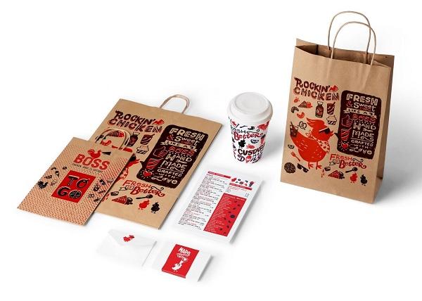 Sử dụng nhiều kích thước túi giấy, thuận tiện cho khách hàng mua sản phẩm.
