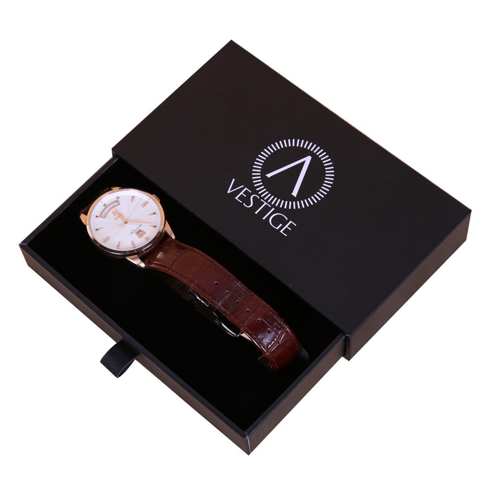 Vỏ hộp sẽ bảo vệ đồng hồ tránh các tác động từ bên ngoài giúp phân biệt thương hiệu tốt hơn.