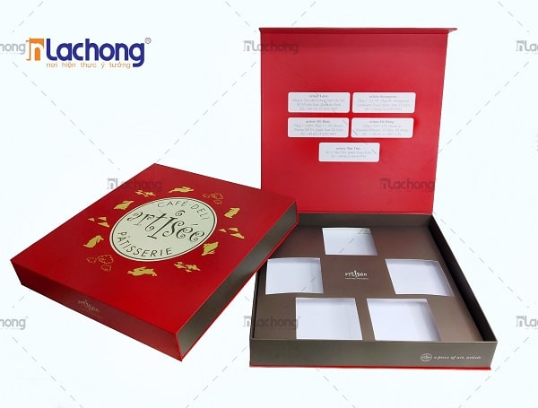 Hộp giấy đựng bánh cao cấp Artisée Do Lạc Hồng thiết kế và sản xuất