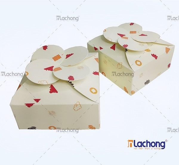 In hộp giấy đựng bánh đẹp do Lạc Hồng thiết kế & sản xuất