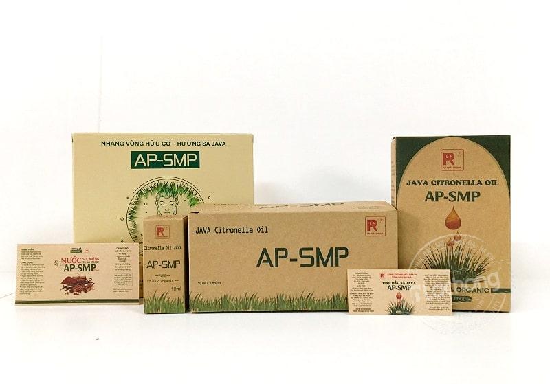 Sản xuất hộp giấy đựng tinh dầu bằng chất liệu kraft của Lạc Hồng