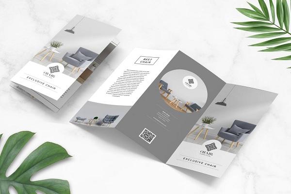 In brochure nội thất giá rẻ, vừa tiết kiệm chi phí, vừa quảng cáo sản phẩm hiệu quả