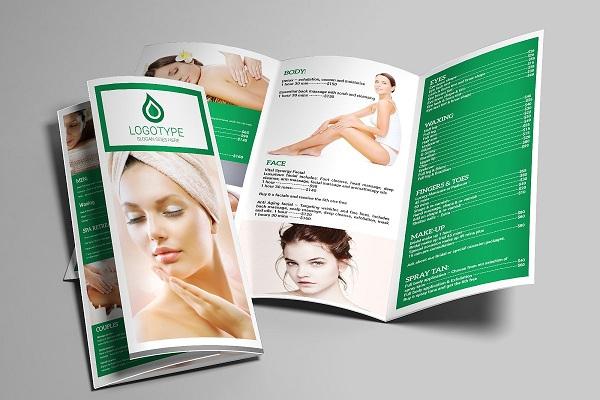 Brochure spa được sử dụng rất phổ biến do phù hợp với nhu cầu và cách tiếp nhận thông tin của cả doanh nghiệp và khách hàng