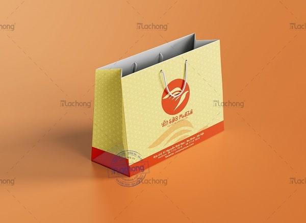 Thiết kế túi giấy đựng Yến Sào Plaza