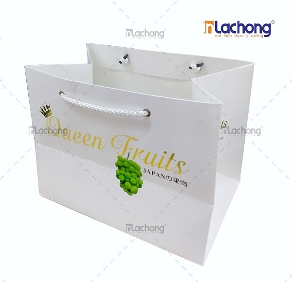 Túi giấy hoa quả Queen Fruits