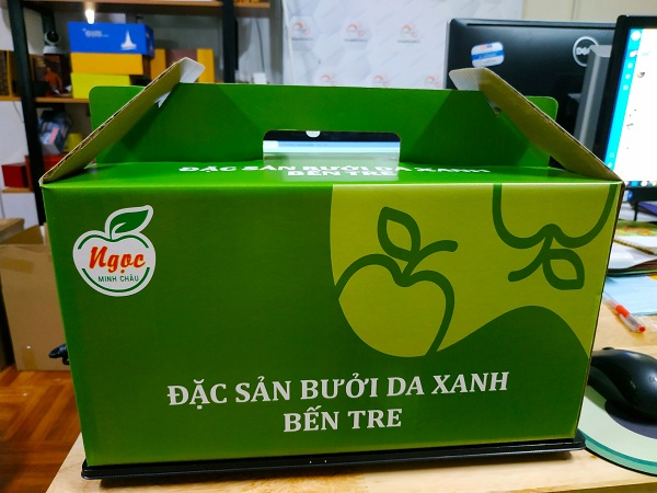 Vỏ hộp đựng trái cây như bưởi thường được tính toán kĩ lưỡng về trọng lượng để đảm bảo vỏ hộp có thể đựng tốt