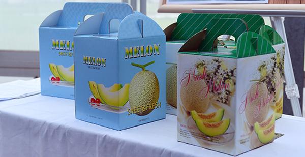 Thiết kế hộp giấy đựng hoa quả cần hài hòa, cân đối và sử dụng các chi tiết mang đậm đặc trưng của sản phẩm