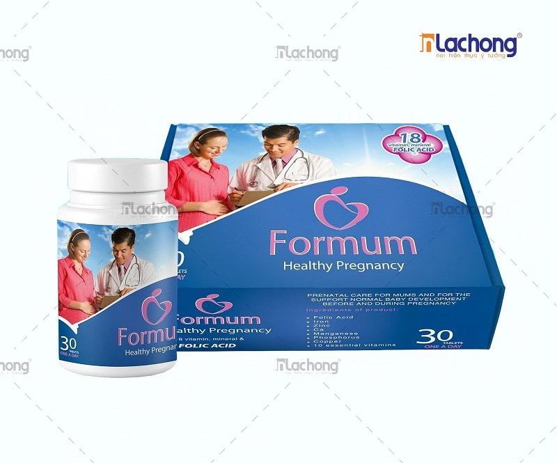 Hộp thực phẩm chức năng Formum