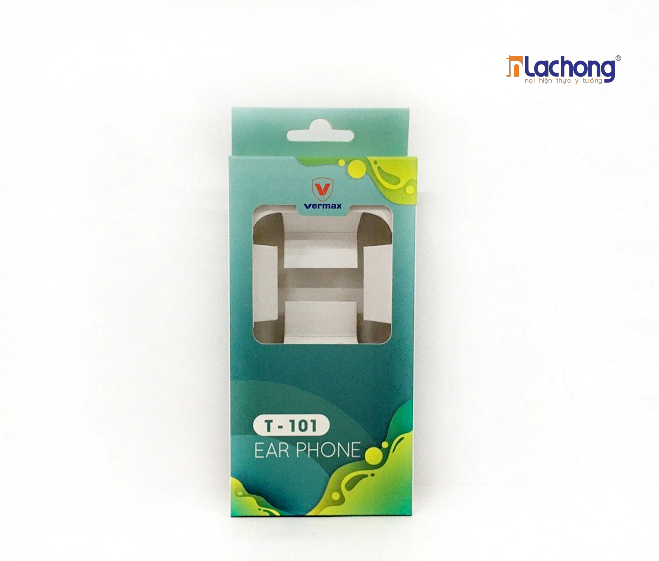 Hộp giấy đựng tai nghe có khay, cố định sản phẩm và tăng tính thẩm mỹ hiệu quả hơn