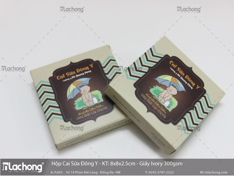 thiết kế Vỏ hộp cai sữa đông y tại Lạc Hồng