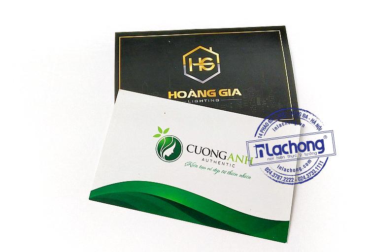 In name card tại Lạc Hồng khách hàng được miễn phí 100% thiết kế