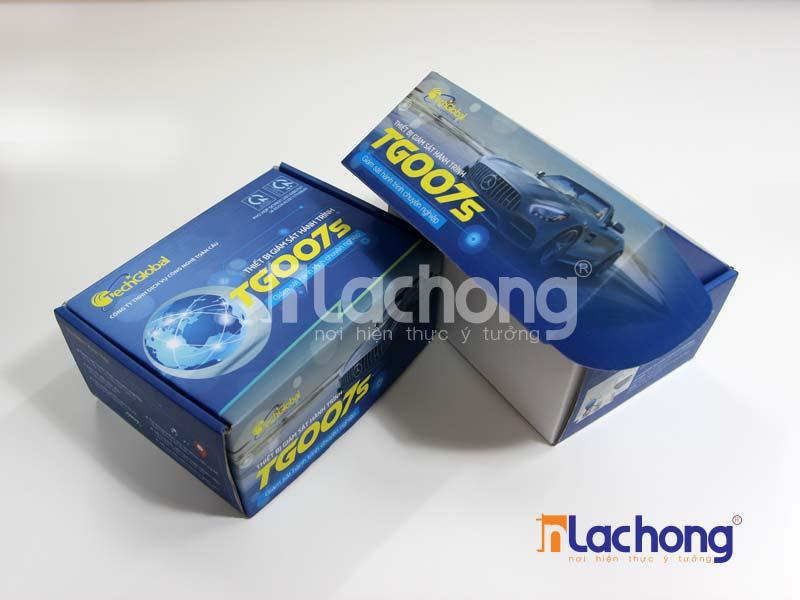 Sản xuất vỏ hộp carton sóng đựng thiết bị tại Lạc Hồng