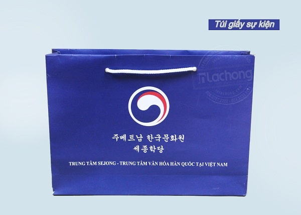 sản xuất túi giấy sự kiện giá rẻ của Lạc Hồng