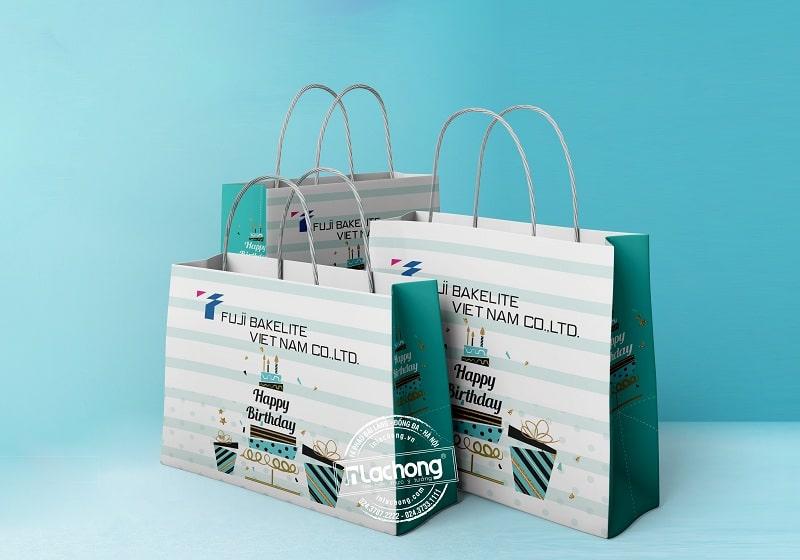 Thiết kế túi giấy sự kiện của Lạc Hồng