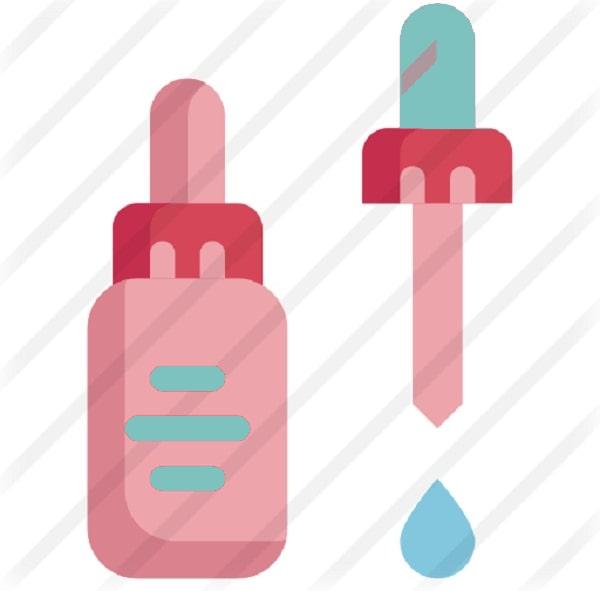 Mẫu Icon serum