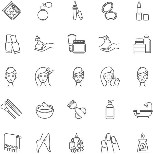 Có thể tô màu theo sở thích với các mẫu icon như hình