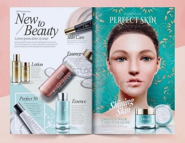 Hình ảnh đẹp mắt làm gia tăng tối đa tính thẩm mỹ của catalogue