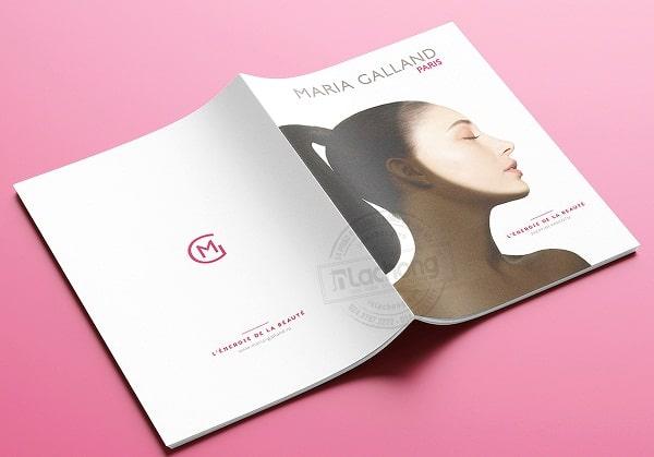 Bìa catalogue quảng cáo mỹ phẩm đẹp sẽ tạo được thiện cảm hơn cho khách hàng và đối tác