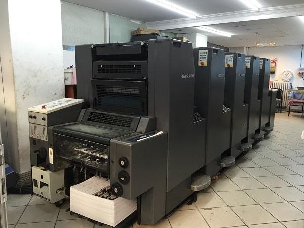 Công nghệ in offset được ứng dụng nhiều trong ngành công nghiệp in ấn
